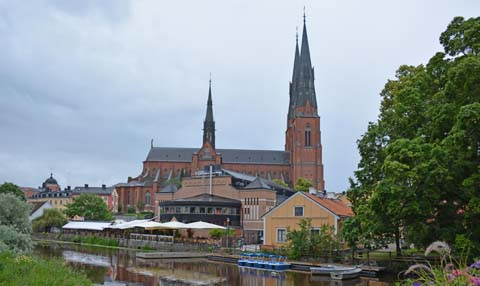 Die Kathedrale in Uppsala